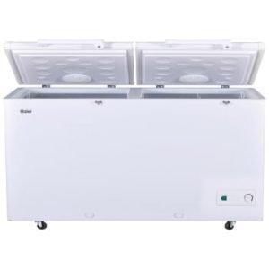 HDF-385H Haier Double Door Deep Freezer 385 Ltr White