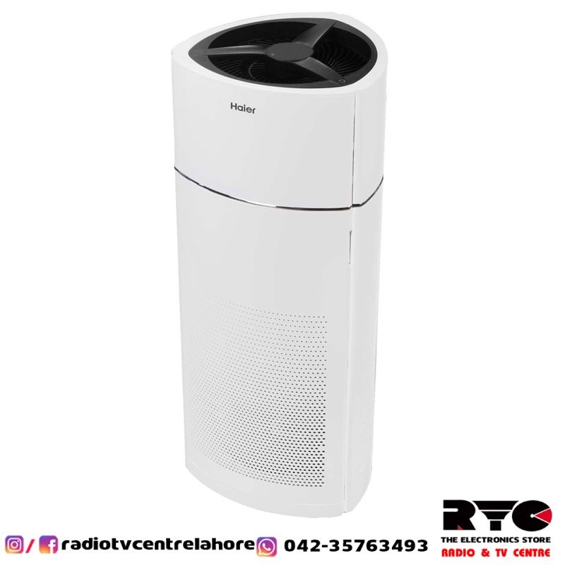 Kjf600k Haier Air Purifier With Hepa Filter Timer 55w Radio Tv Centre