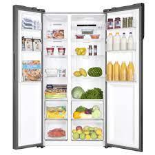 GCE21XGFLS GE Side by Side Refrigerator
