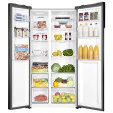 HRF618GG Haier Side By Side Refrigerator 495Ltr Gold
