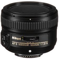AF-S Nikon Lens 50mm-F1.8G