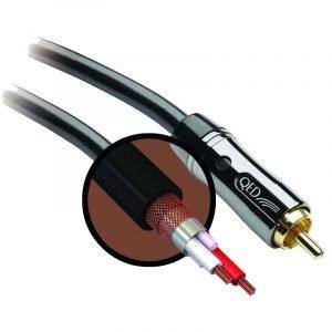 QED Prem Subwoofer Cable 3m