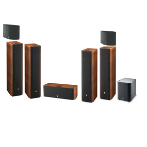 Focal Chorus Home Theater System 7.1 Channel Bundle